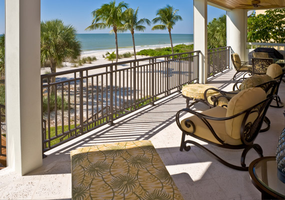 Florida Beach House Veranda